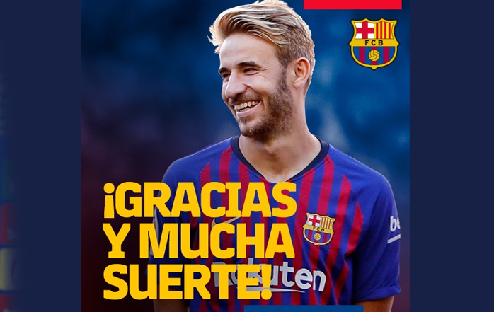El Barcelona hizo oficial la rescisión del contrato de Samper ... c1e75892083